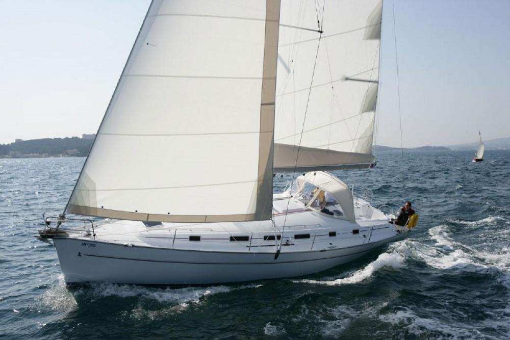 Verhuur Zeilboot in Terranoa/Olbia - Bénéteau Cyclades 50.5 - 5 + 1 cab.