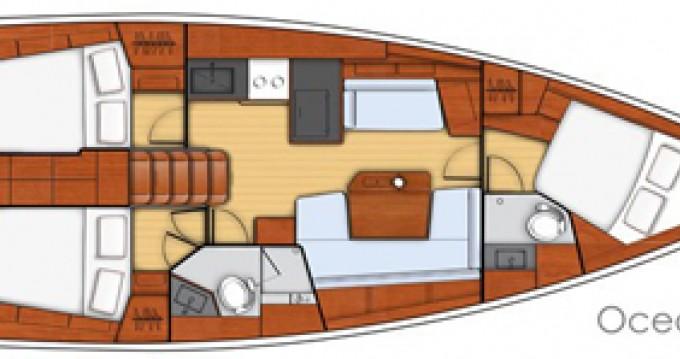 Location yacht à Grèce-Centrale - Bénéteau Oceanis 41.1 sur SamBoat