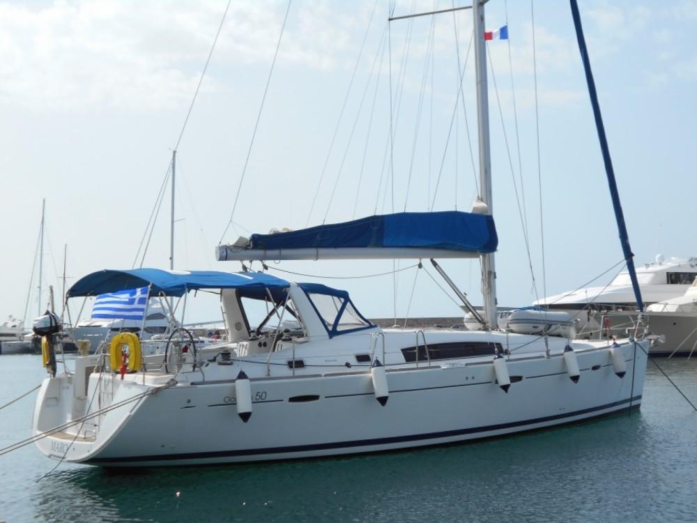 Location bateau Grèce-Centrale pas cher Oceanis 50 - 4 + 1 cab.