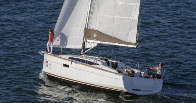 Rental Sailboat in Central Greece - Jeanneau Sun Odyssey 349