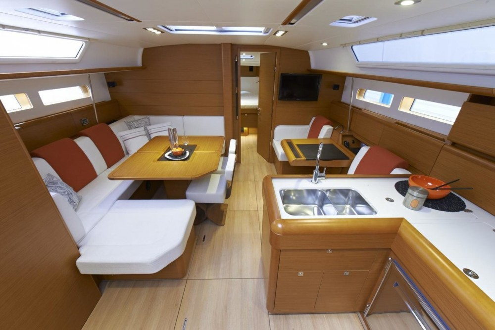Jeanneau Sun Odyssey 469 between personal and professional Central Greece