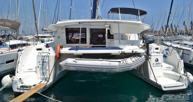Boat rental Fountaine Pajot Salina 48 in Lefkas on Samboat