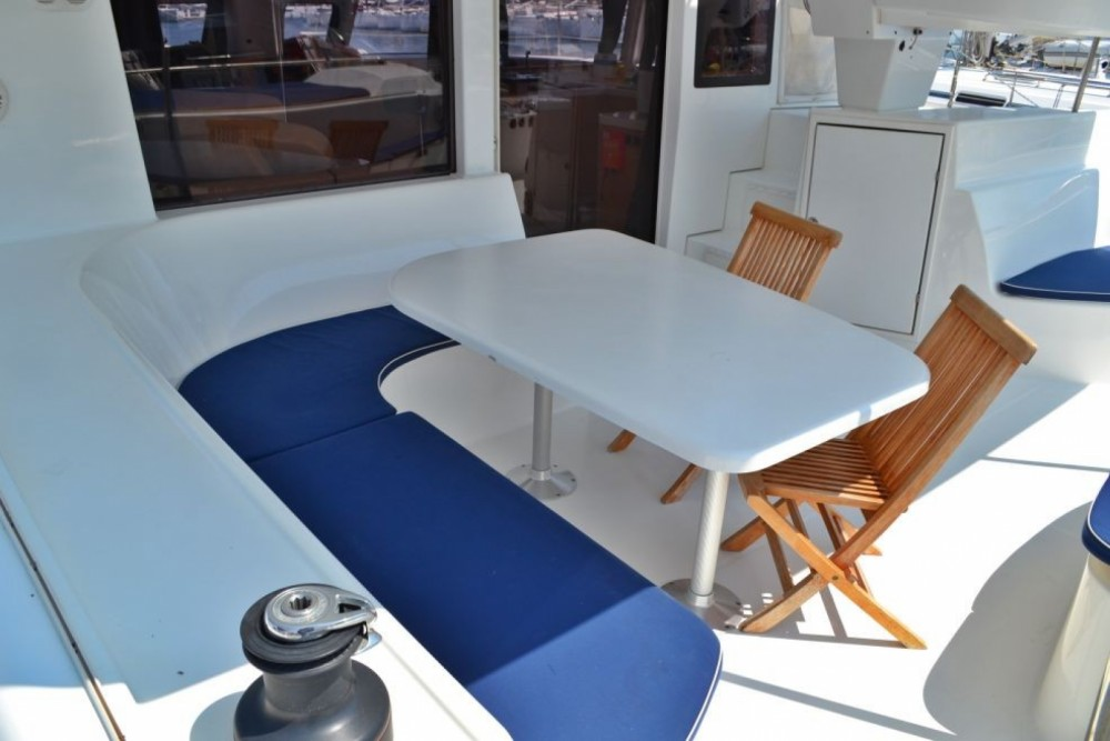Fountaine Pajot Salina 48 between personal and professional Lefkas