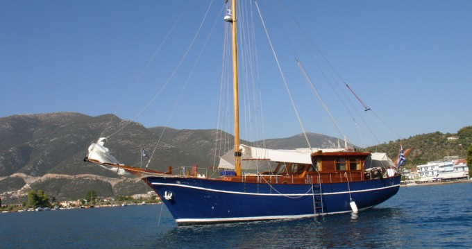 Rental Sailboat in Central Greece - Custom Made Gulet Aegeas