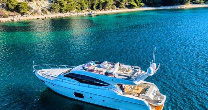 Hire Motor boat with or without skipper Ferretti Marina Kaštela