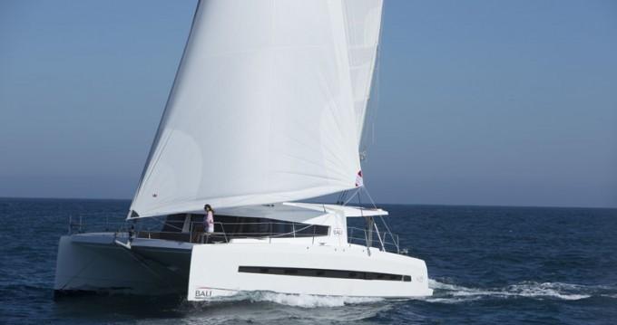 Rental Catamaran in Pointe-à-Pitre - Catana Bali 4.5
