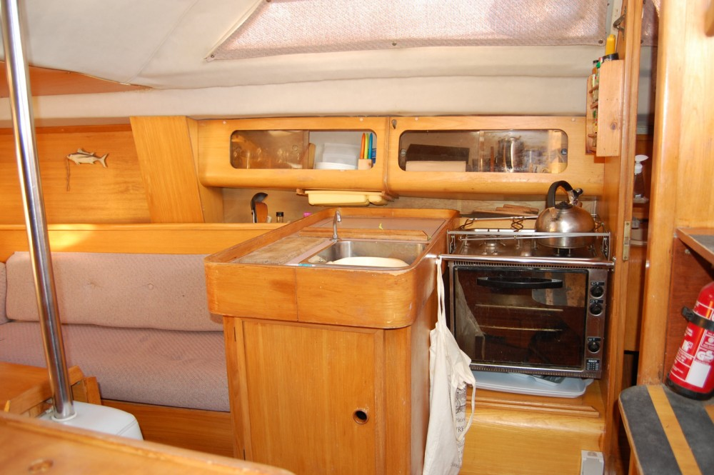 Hire Sailboat with or without skipper Kirie Arzal