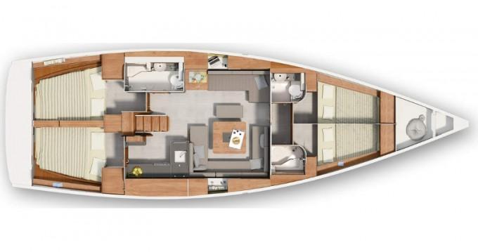 Hanse Hanse 455 between personal and professional Morningside marina