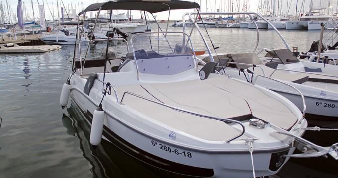 Location bateau Cambrils pas cher Flyer 6.6 SUNdeck