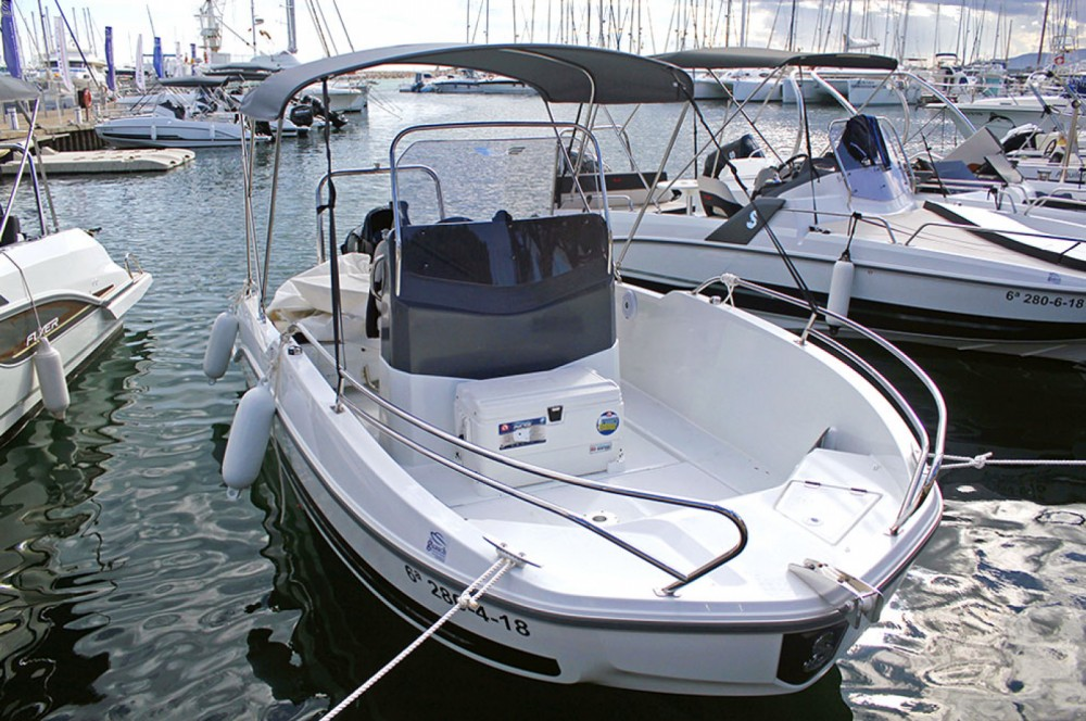 Rental Motor boat in Cambrils - Bénéteau Flyer 5.5 SPACEdeck
