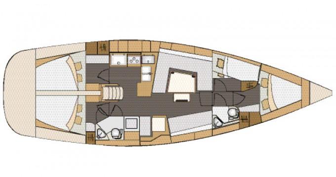 Rental yacht Marina Kornati - Elan Elan 45 Impression on SamBoat