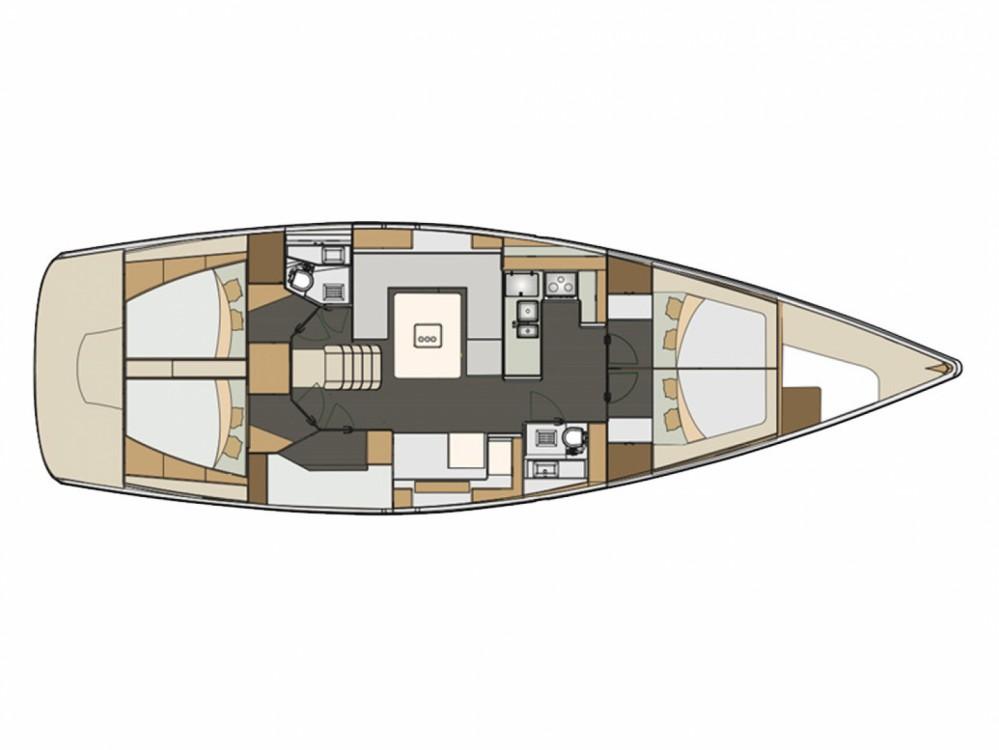 Rental Sailboat in Marina Kornati - Elan Elan 50 Impression