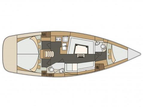 Boat rental Elan Elan 40 Impression in Marina Kornati on Samboat