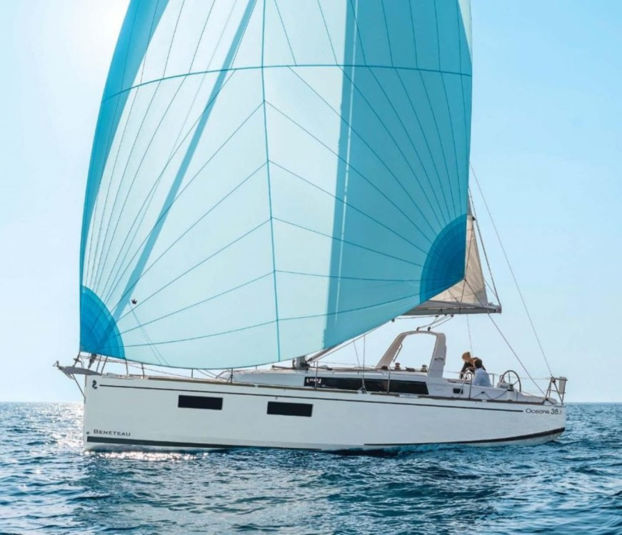 Bénéteau Oceanis 38.1 between personal and professional Marina Kornati