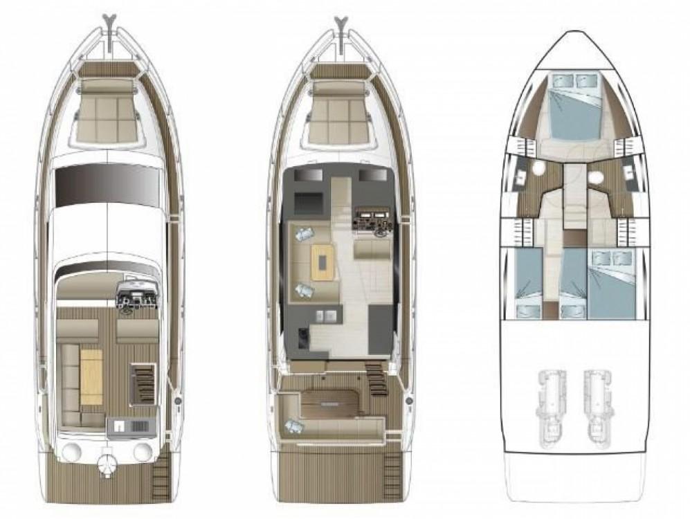 Rental Motor boat in Pula - Sealine Sealine F430