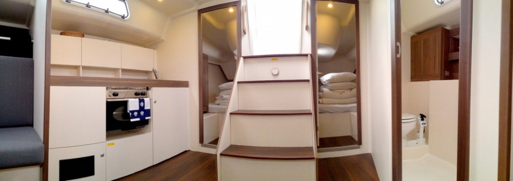 Rental yacht Marina Kornati - Hanse Varianta 44 on SamBoat