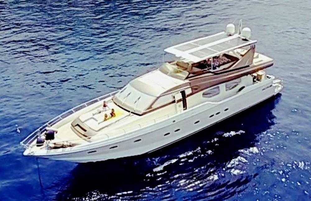 Alquiler Yates en Nápoles - Rizzardi Posillipo Technema  80