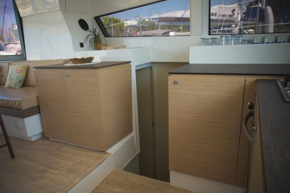 Catamaran for rent Lefkas at the best price
