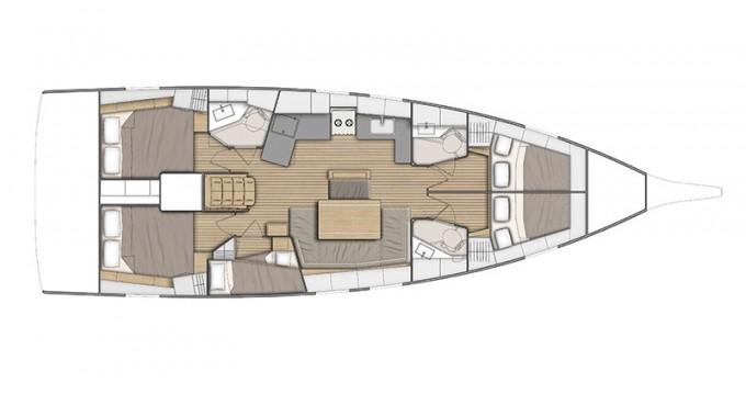 Boat rental Bénéteau Oceanis 46.1 in Ibiza Magna on Samboat