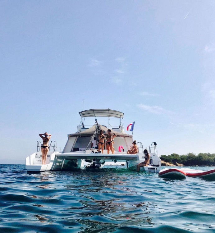 Katamaran mit oder ohne Skipper Catamaran mieten in Cogolin