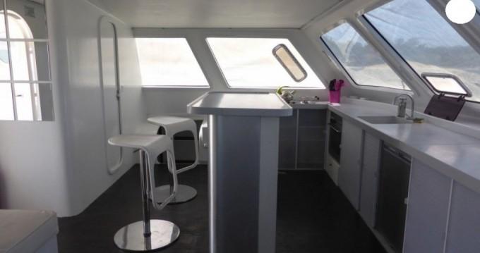 Rental Catamaran Catamaran with a permit