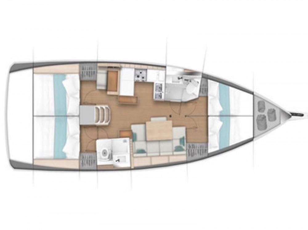 Noleggio barche Marina d'Arechi economico Sun Odyssey 440
