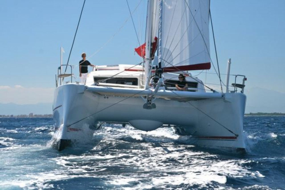 Alquiler Catamarán en Ajaccio - Catana Catana 42