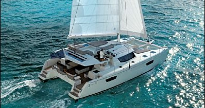 Fountaine Pajot Saba 50 between personal and professional District of Martin