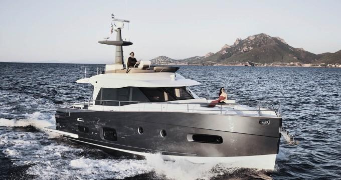 Rental Motor boat in Šibenik - Azimut Azimut Magellano 53