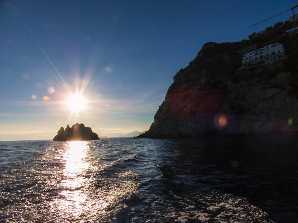 Rental Motor boat in Amalfi - Chris Craft Commander 31