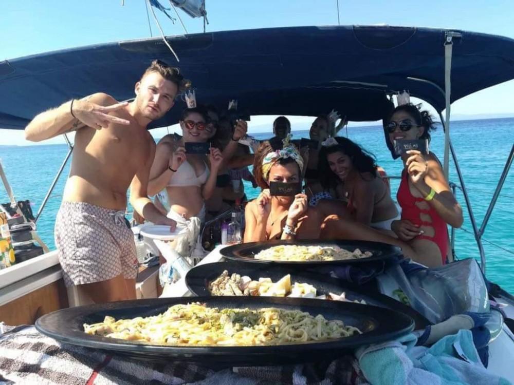 Boat rental Neos Marmaras cheap Dufour 385 Grand Large