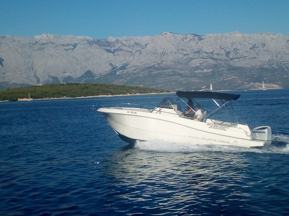Hire Motor boat with or without skipper Atlantic-Marine Sumartin