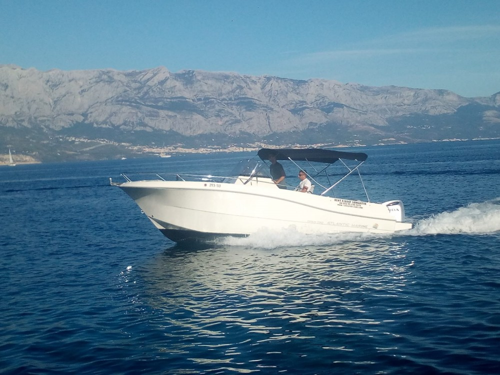 Rental Motor boat Atlantic-Marine with a permit