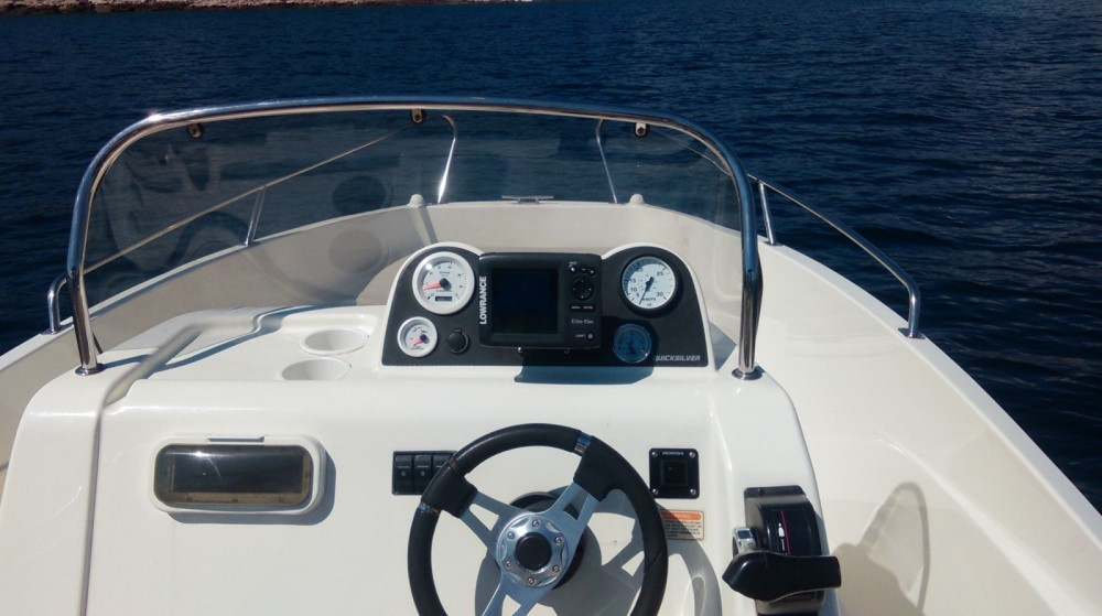 Hire Motor boat with or without skipper Quicksilver Sumartin