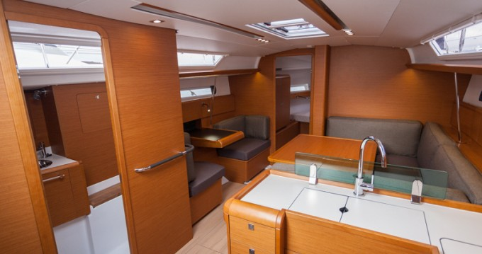 Boat rental Primošten cheap Sun Odyssey 419