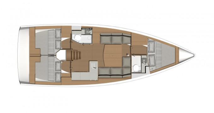 Boat rental Dufour Grand Large 390 in Noord-Beveland on Samboat