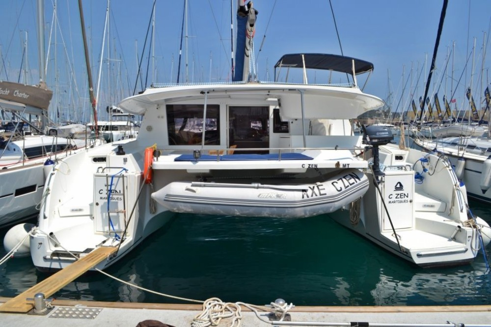 Hire Catamaran with or without skipper Fountaine Pajot Tourlos