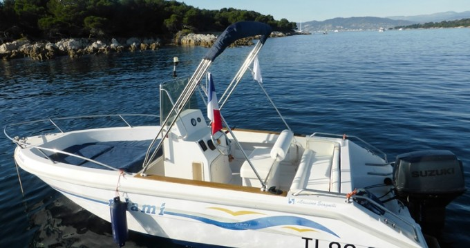 Louer Bateau à moteur avec ou sans skipper MASSIMO SCAGNELLI à Mandelieu-la-Napoule