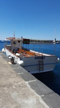 Louer Bateau à moteur avec ou sans skipper Cantiere Mileo à Amalfi