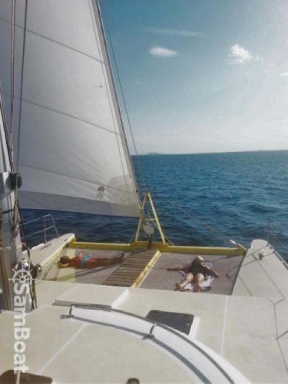 Rental Catamaran Caroff with a permit