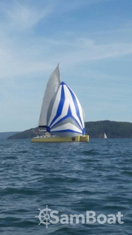 Hire Catamaran with or without skipper Caroff Ajaccio