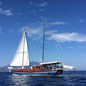 Boat rental Milazzo cheap Kpatain