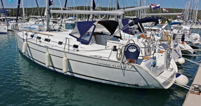 Rental yacht Sukošan - Bénéteau Cyclades 434 on SamBoat