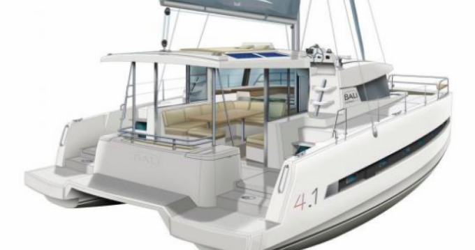Rental yacht Olbia - Catana Bali 4.1 - 4 + 2 cab. on SamBoat