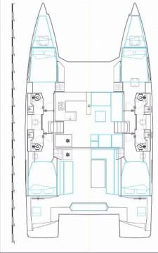 Rental yacht Olbia - Nautitech Nautitech 46 Fly on SamBoat