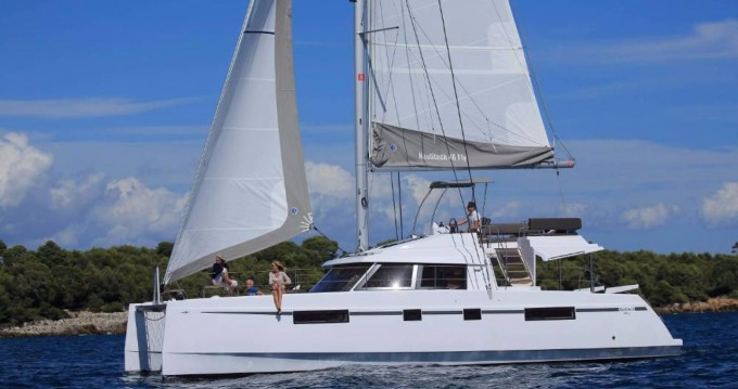 Hire Catamaran with or without skipper Nautitech Olbia