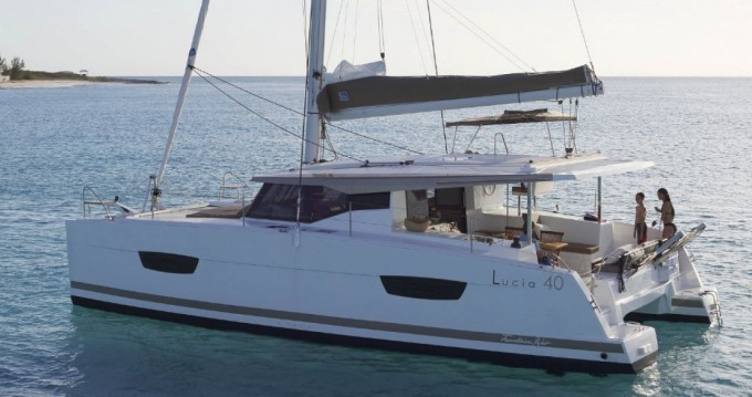 Boat rental Fountaine Pajot Fountaine Pajot Lucia 40 - 3 cab. in Trogir on Samboat