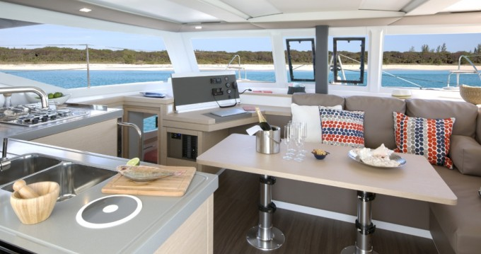 Rent a Fountaine Pajot Fountaine Pajot Lucia 40 - 3 cab. Trogir