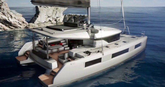 Rental Catamaran in Seget Donji - Lagoon Lagoon 50