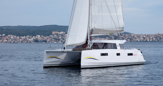 Boat rental Trogir cheap Nautitech 40